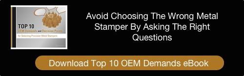 Metal Stamping OEM Demands eBook