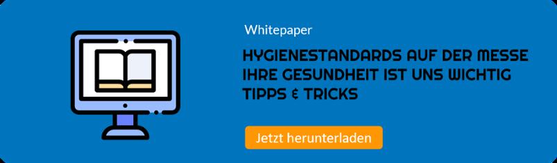 Whitepaper Hygiene auf der Messe