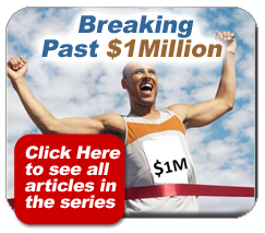 read blog articles about breaking 1 million