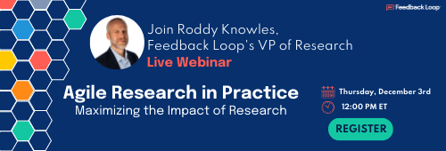 Webinar: Agile Research in Practice