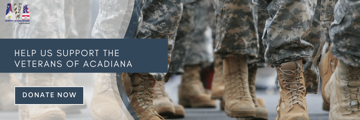 Help us support the veterans of acadiana