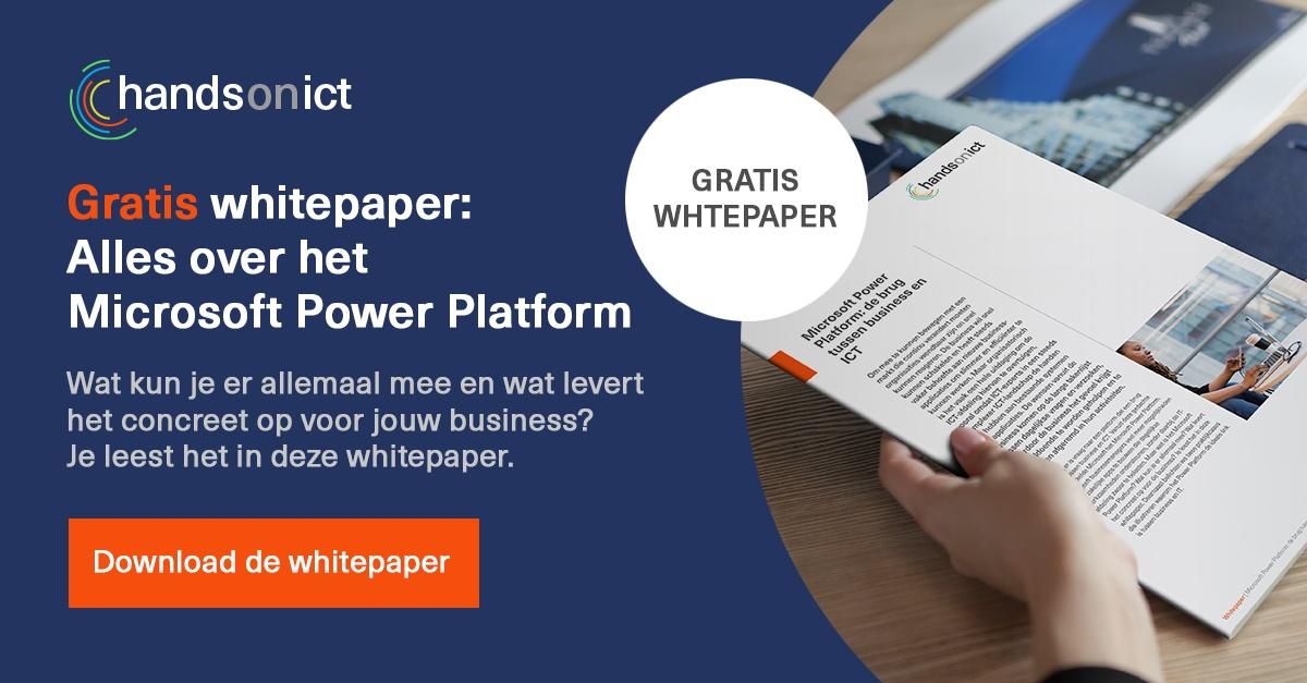 Alles over het Microsoft Power Platform