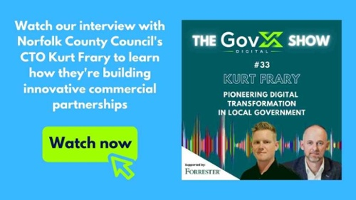 Watch the podcast - Pioneering Local Government Transformation