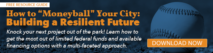 CTA button linking to resource article: How to Moneyball Your City - Building a Resilient Future