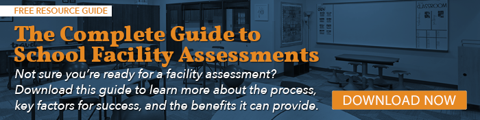 CTA button linking to resource article: The Complete Guide to School Facility Assessments