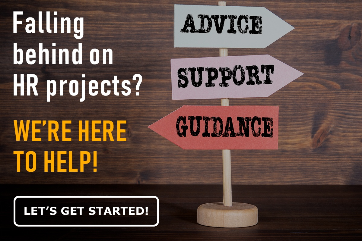 Falling behind on HR projects? We're here to help!