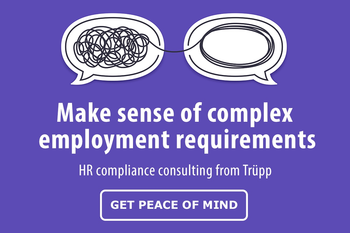 Make sense of complex employment requirements with HR compliance consulting