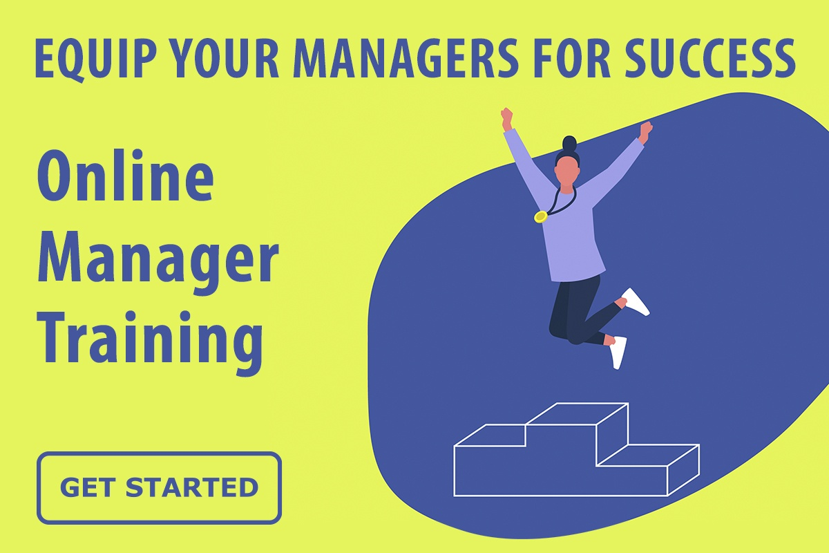Equip your managers for success with online training