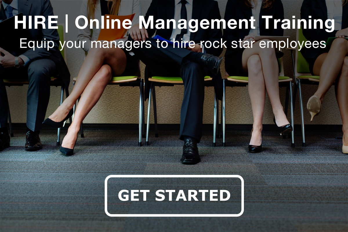 Equip your managers to hire rock star employees