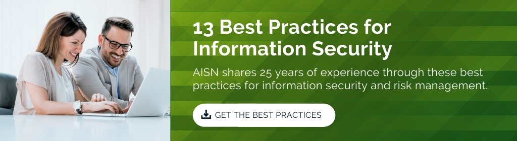 13 Best Practices for Information Security