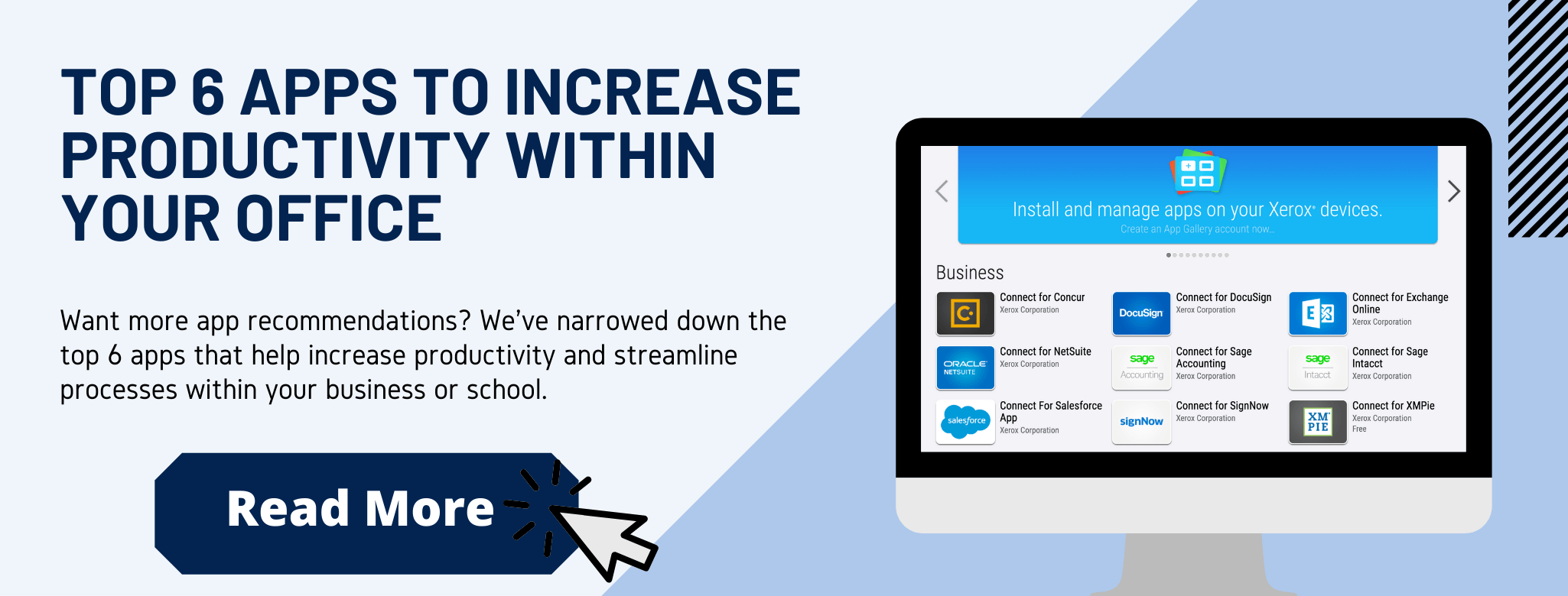 Infographic: Top 6 apps to increase productivity