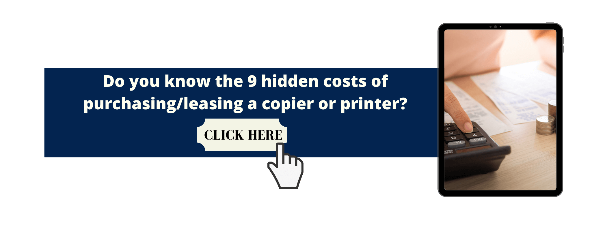 Infographic about hidden costs.