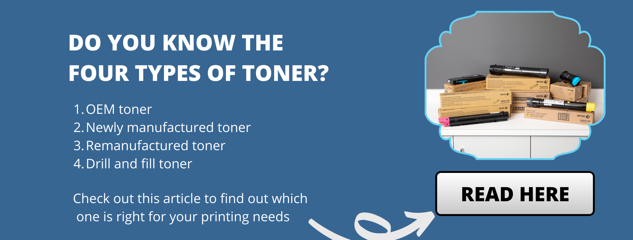 Infographic: Do you know the four types of toner?