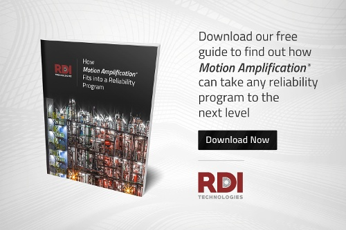Free Guide Cover for How Motion Amplification Fits into a Reliability Program
