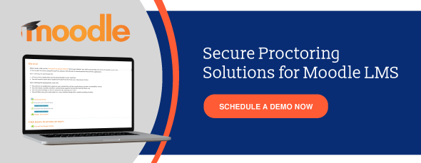 Online Proctoring for Moodle LMS. Schedule a demo now.