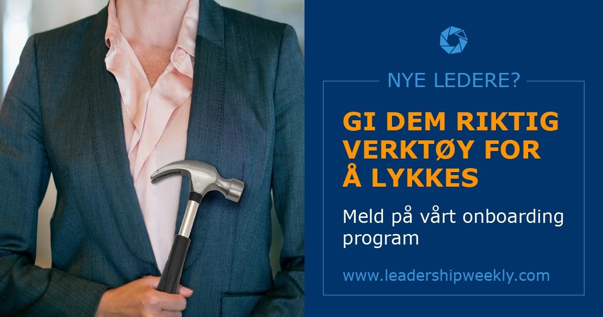Les mer om Leadership Weeklys nye onboarding program her