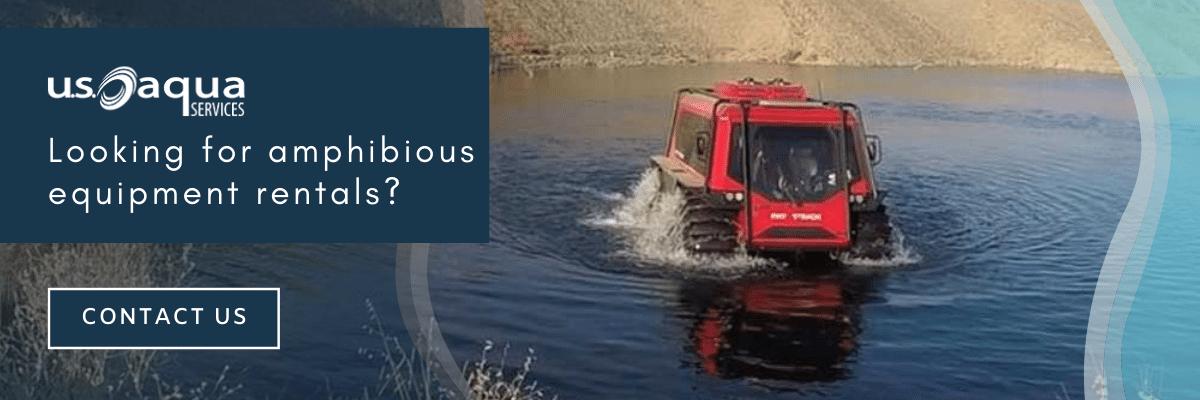 Amphibious equipment rentals