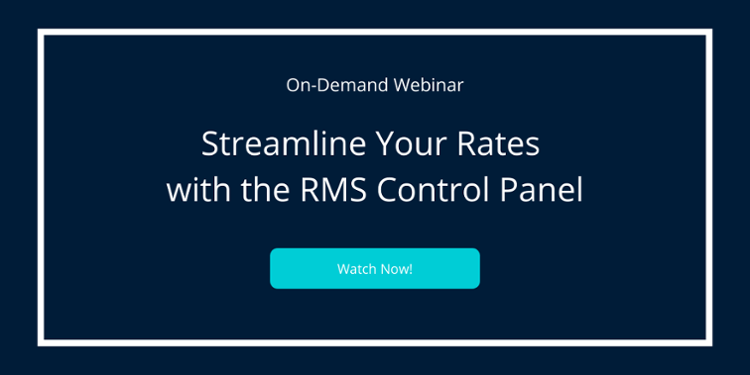 RMS Webinar: Streamline Your Rates with the RMS Control Panel