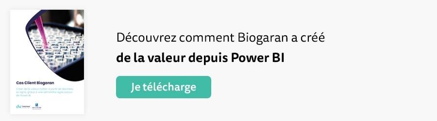 Cas client Biogaran et Power BI