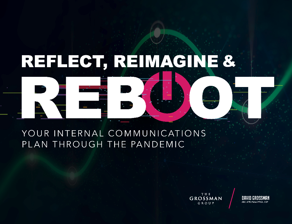 Reboot your internal communications plan through the pandemic ebook