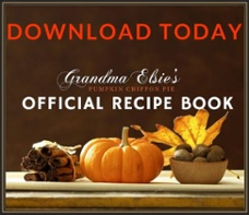 Grandma Elsie Thanksgiving Recipe Book