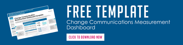 Change Communications Measurement Dashboard Template