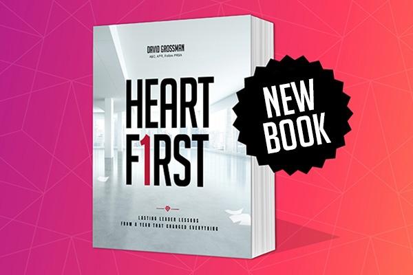 Heart First Book New Book