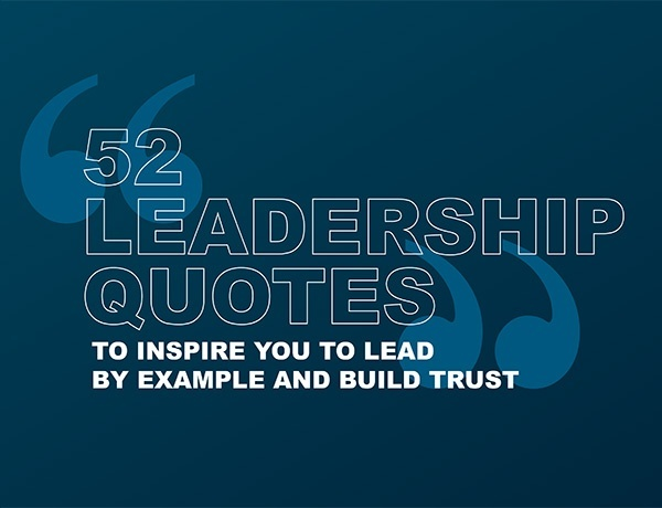 52 Leadership Quotes