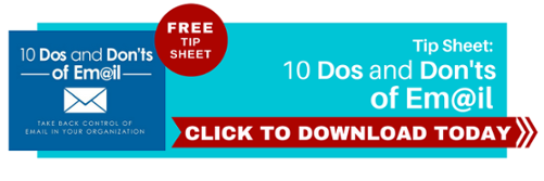 10 dos donts email tip sheet