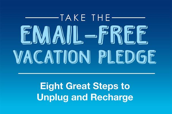 Email-Free Vacation Pledge