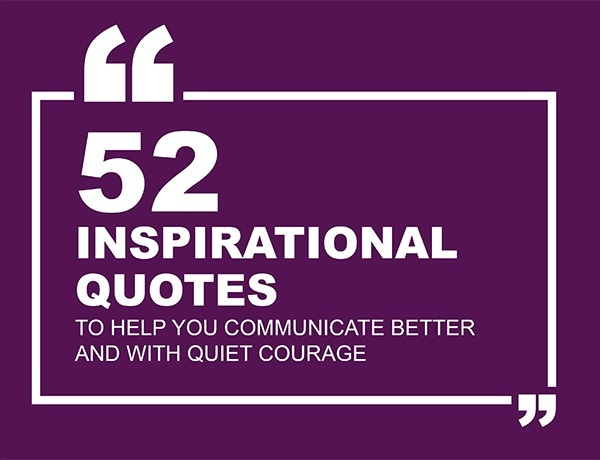 52 Inspirational Quotes