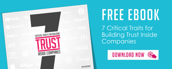 Free ebook - 7 Critical Traits for Building Trust Inside Companies