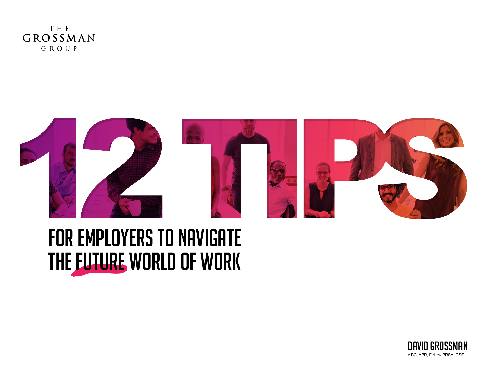 12 Tips for Employers to Navigate the Future World of Work eBook