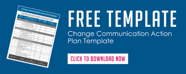 Change Communication Action Plan Template