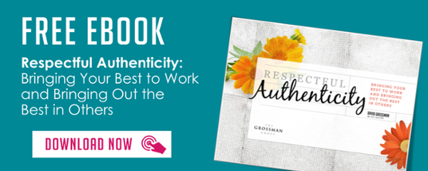 Click to download the Respectful Authenticity ebook - The Grossman Group
