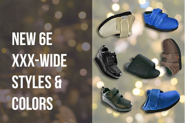 New 6E XXX-Wide Widths Available On Pedors.com
