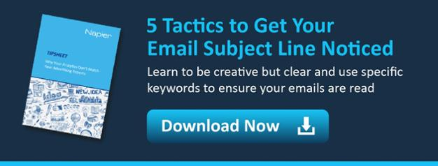 Download 5 Tactics to Get Your Subject Line Noticed