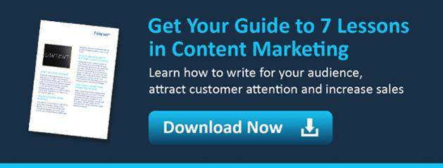Download 7 Lessons in Mastering Content Marketing