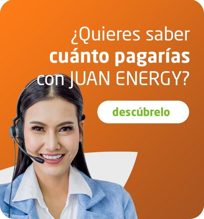 cuanto pagas con juan energy
