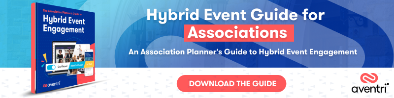 An Association Planner's Guide to Hybrid Event Engagement eBook Guide