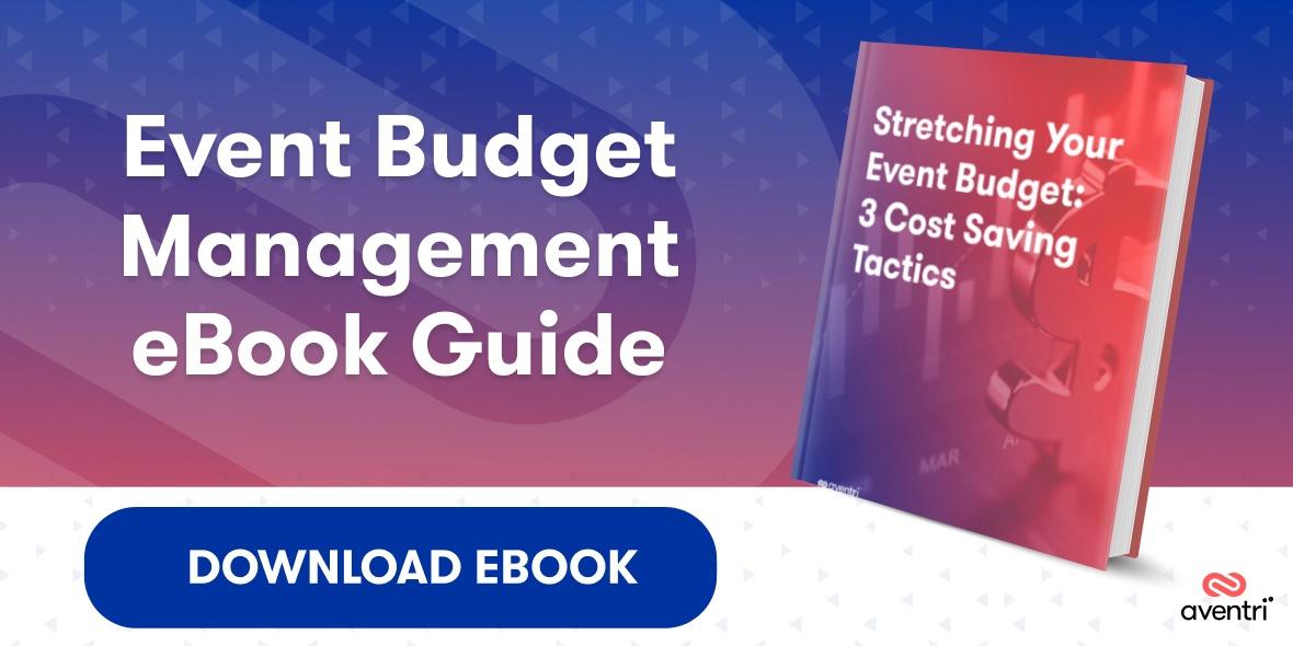 event budget management guide