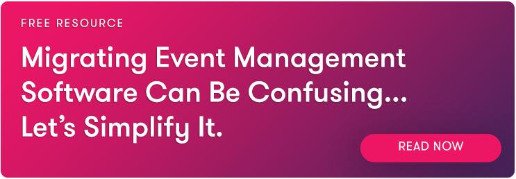 Simple Event Management Software Migration