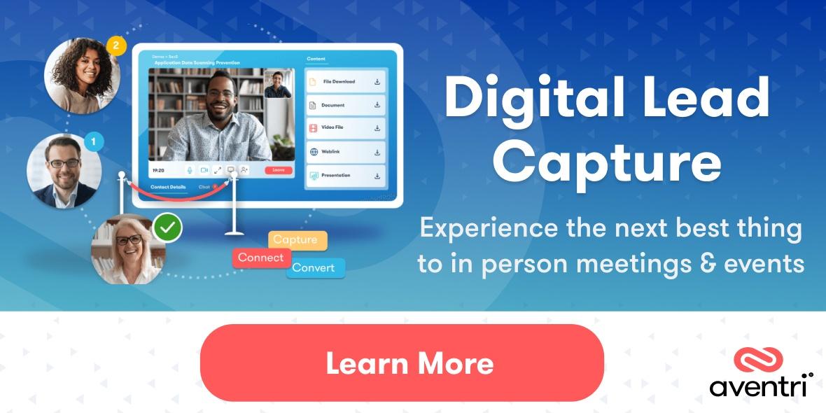 Aventri's Digital Lead Capture Solution