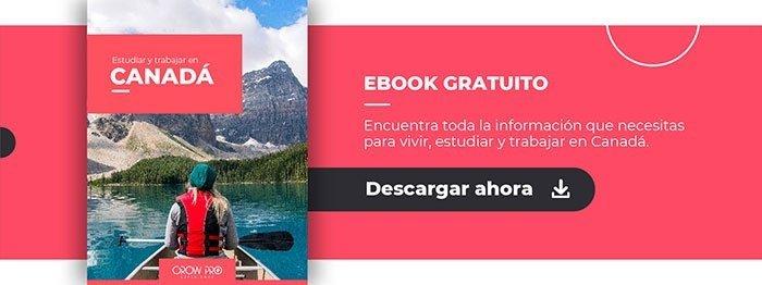 Ebook | Estudia y trabaja en Canadá