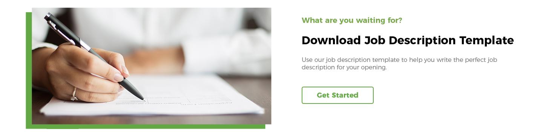 Download Job Description Template
