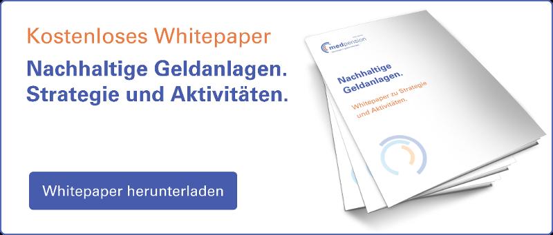 Whitepaper Nachhaltigkeitsstrategie Medpension