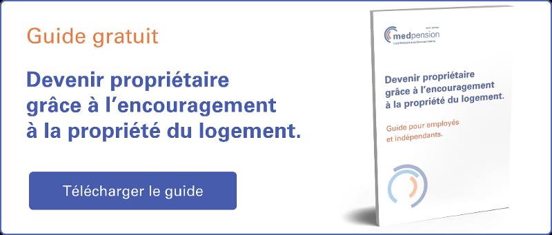 Guide de lecture: Devenir propriétaire grâce à l'encouragement à la propriété du logement