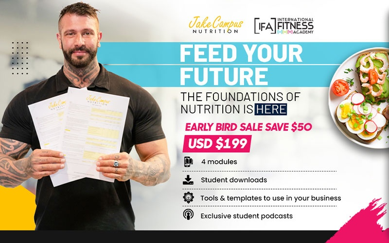 Jake Campus Nutrition - Feed your future