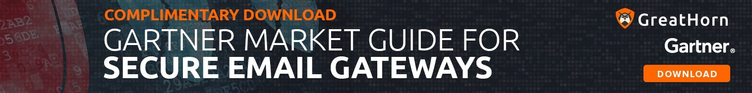 Complimentary Gartner Market Guide for Secure Email Gateways