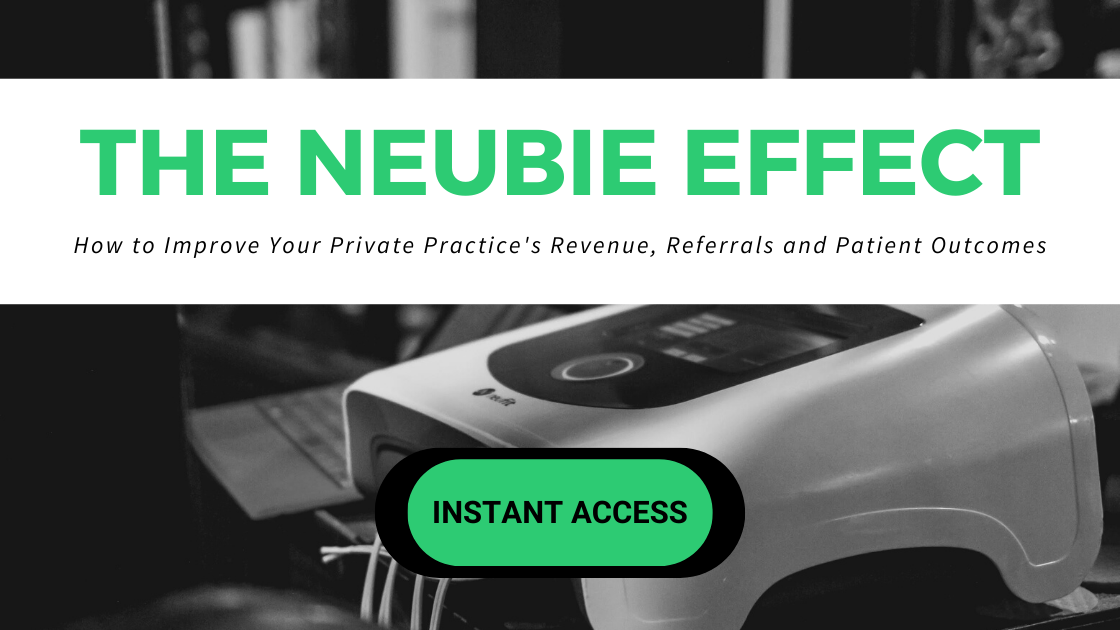 The NEUBIE Effect for Physical Therapists